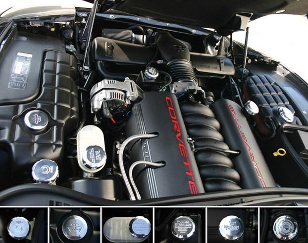 6Th Generation Camaro >> C5 Billet Under Hood Caps - RPIDesigns.com