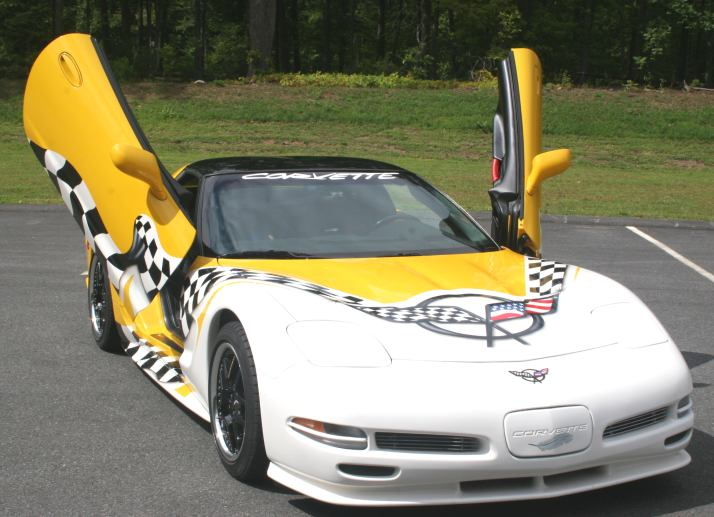 1997-2004 C5 Corvette Vertical Door Kit