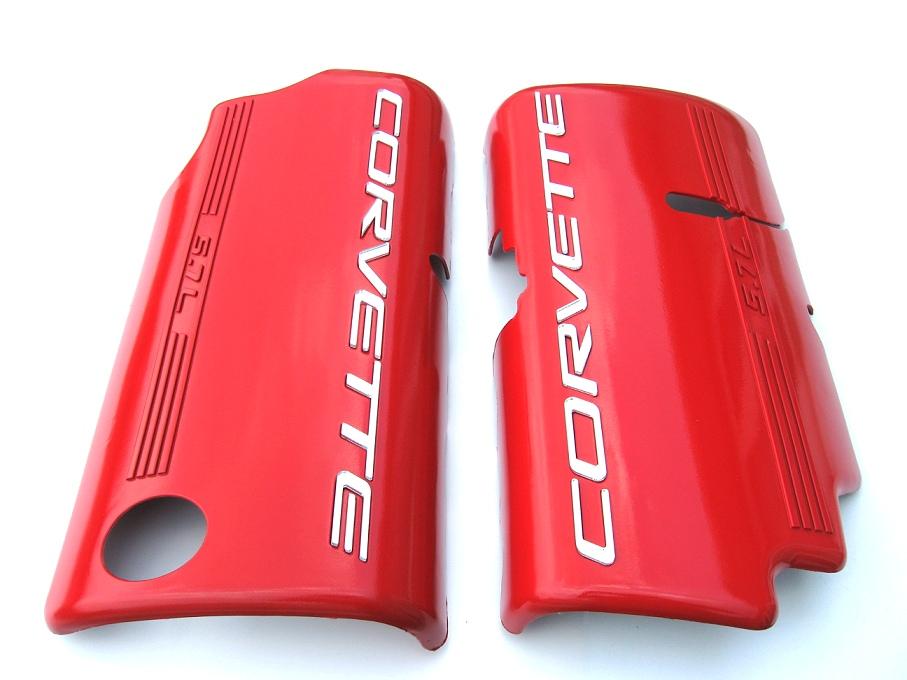 C5 Corvette Painted Fuel Rail Covers -Smooth - RPIDesigns.com