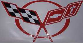 C5 Corvette Hood Liner Pad Decal