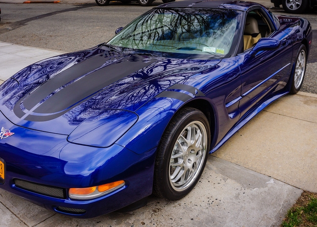 C5 Corvette ZR1 Style Side Skirts Package - Painted or ...