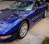 C5 Corvette ZR1 Style Side Skirts Package Painted or Hydro Carbon