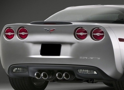 C6 Corvette Stainless Steel Taillight Trim Kit