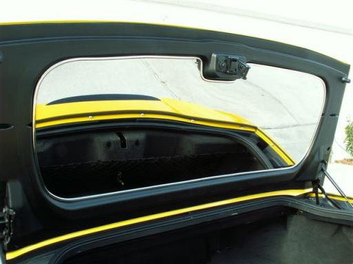 C6 Corvette Convertible Trunk Mirror