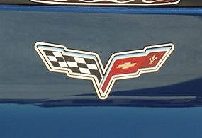 1997-2004 C5 Corvette Emblem Surrounds