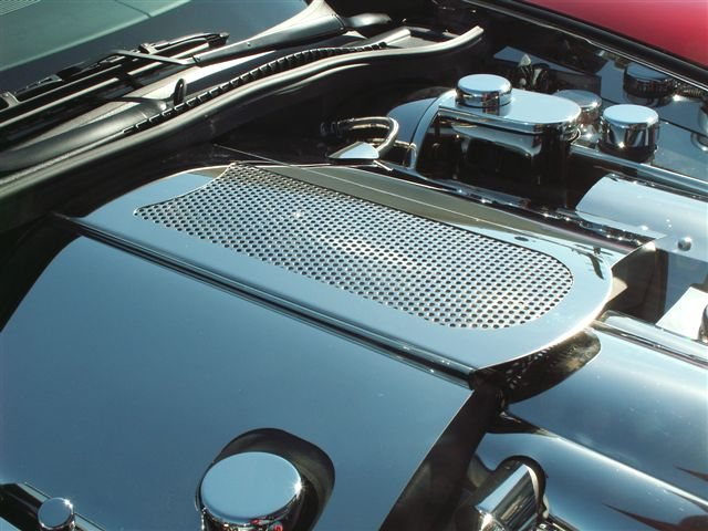 C6 Corvette Perforated Plenum Cover