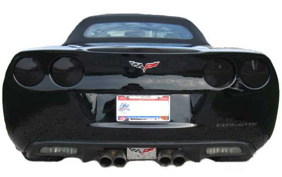 C6 Corvette Acrylic Blackout Kit Taillights