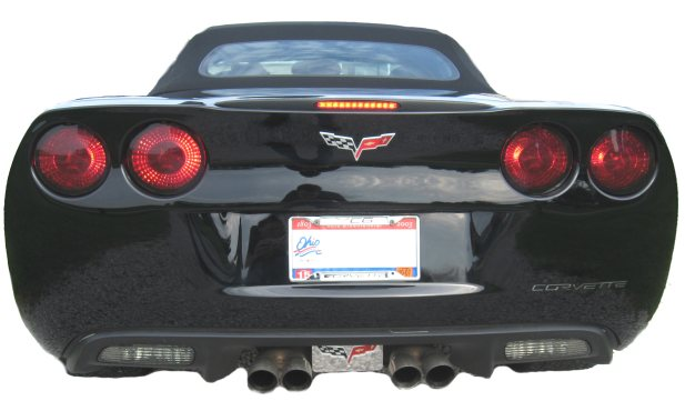 c6 taillight blackouts