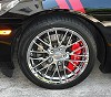 C6 Corvette MGP Caliper Covers
