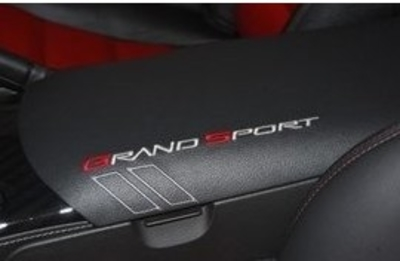 C6 Corvette Grand Sport Console Lid Cover