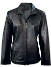 C6 Ladies Leather Jacket