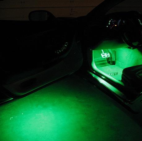 Under door lights