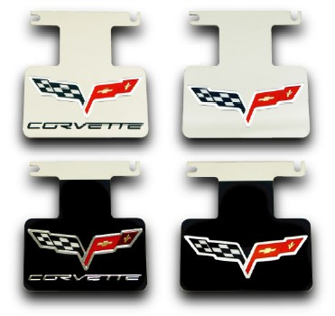C6 Corvette Stainless Steel Exhaust Enhancers Plate