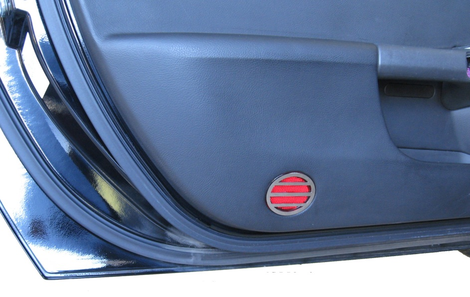 C6 Corvette Door Reflector Covers