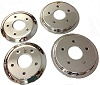 C6 Corvette Chrome Brake Hub Rotor Covers