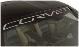 C6 Corvette Front Windshield Decal