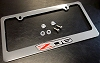 C6 Corvette License Plate Frame - Z06 Logo
