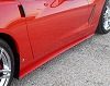 C6 Corvette Side Skirts; ZR1 Style (non Z06)
