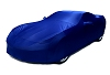 C7 Corvette Car Cover-  Laguna Blue Color Matched Indoor Stretch