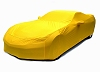 C7 Corvette Car Cover- Corvette Racing Yellow Color Matched Indoor Stretch