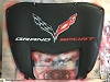 C7 Corvette Grand Sport Airbrushed Hood Liner