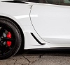 C7 Corvette Stingray ACS Lower Rocker Z06 Brake Intake Scoops
