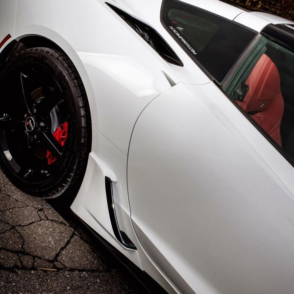 C7 Corvette Stingray Pre Painted Body Color Lower Rocker