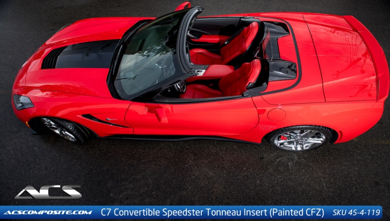 C7 Corvette ACS Tonneau Insert Convertible Cover