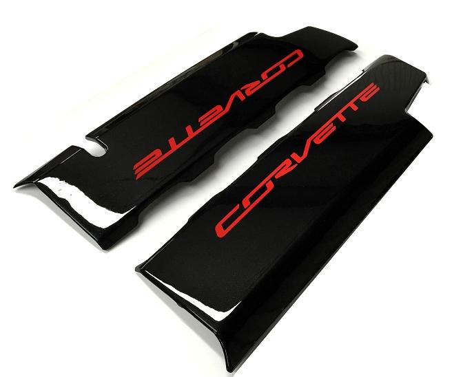 C7 Corvette Painted Fuel Rail Covers