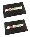C7 Corvette Z51 Visor Decals with Logo