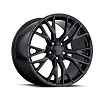 C7 Corvette Z06 Style Black Wheel 19x8.5