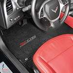 C7 Z06 Corvette Lloyd Front Embroidered Floor Mats
