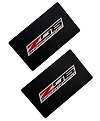 C7 Corvette Z06 Visor Decals with SuperCharged Logo
