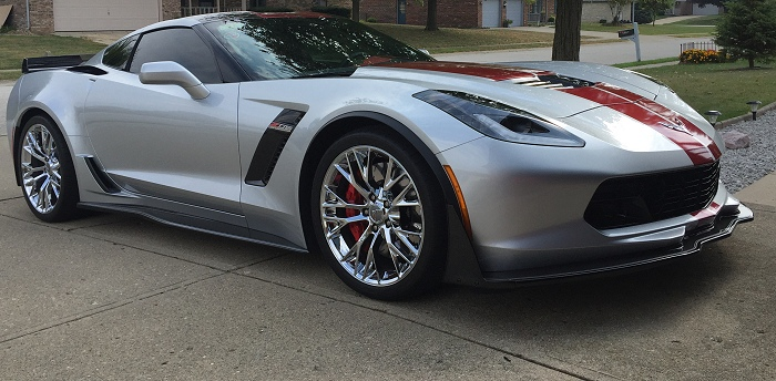 c7 corvette stingray z06 painted front splitter stage 3 rpidesigns. Cars Review. Best American Auto & Cars Review