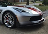 C7 Corvette Stingray Z06 Painted Front Splitter Stage 3