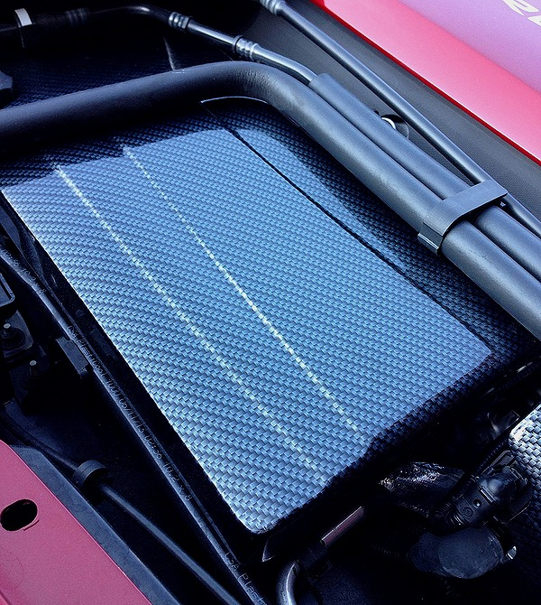 c7 corvette carbon fiber fuse box cover