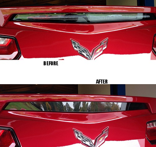C7 Corvette Blackout Kit 3rd Brake light Spoiler