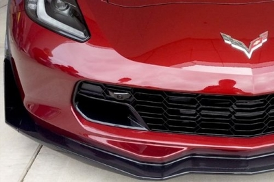 C7 Corvette Front Grille With Dual Parking Cameras