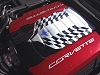 C7 Corvette Airbrushed Checkered Plenum Cover