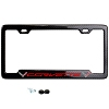 C7 Corvette Carbon Fiber License Plate Frame w/Logo
