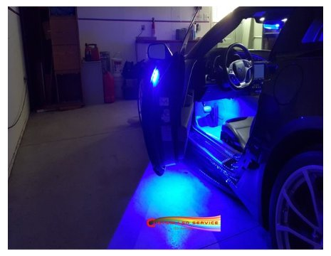 2014-2019 C7 Corvette Bright LED Door Handle and Under Door Puddle Lighting Kit