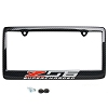 C7 Corvette Z06 Carbon Fiber License Plate Frame