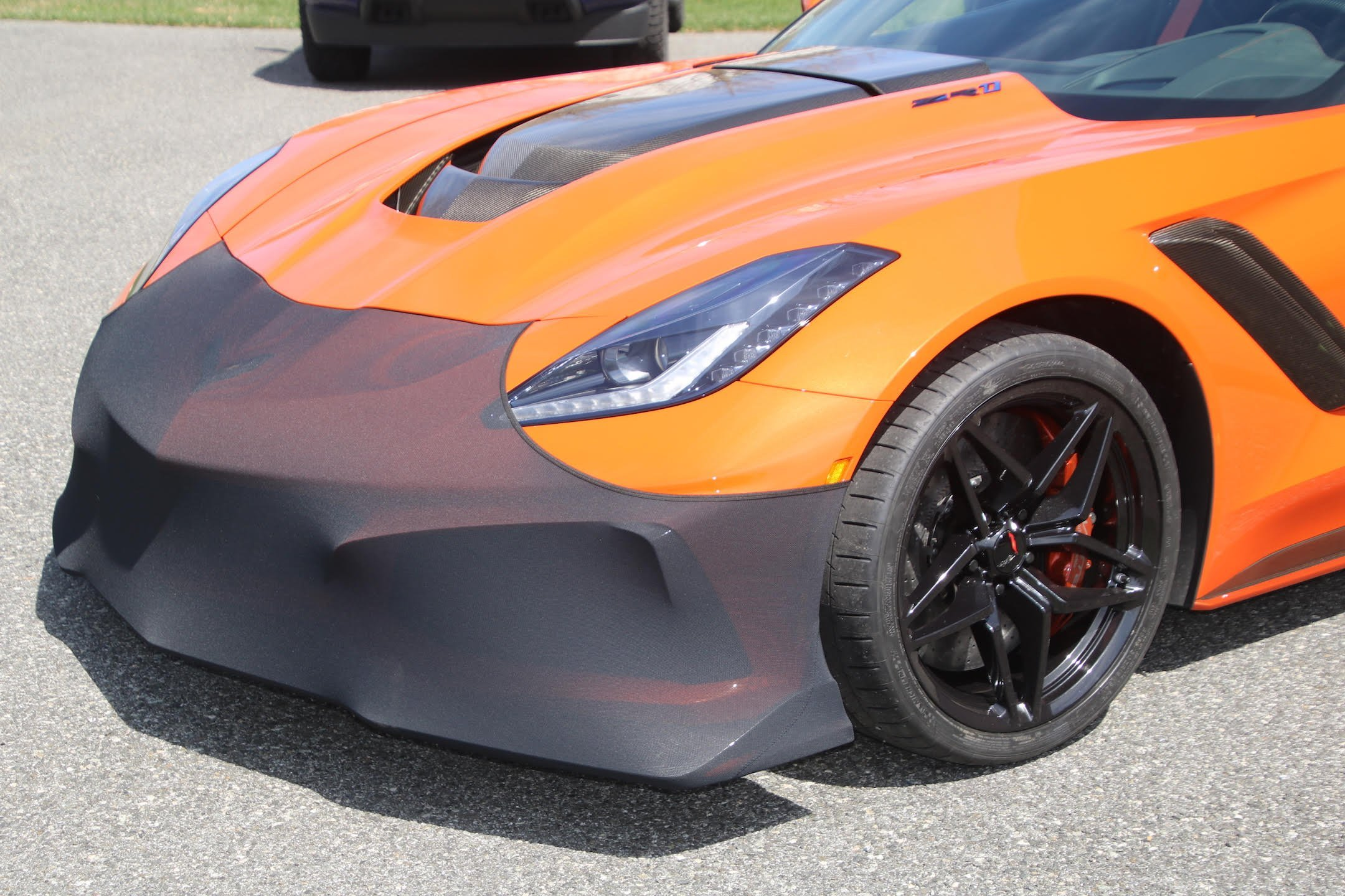 C7 Corvette ZR1 NoviStretch Front Bumper Mask
