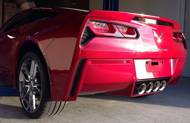 C7 Corvette Painted Body Color Lower Bumper Panel