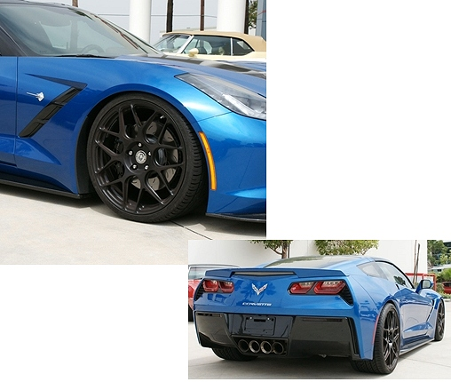 C7 Corvette Stingray Lowering Bolts Package