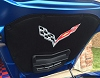C7 Corvette Airbrushed Hood Liner - Premium Chrome