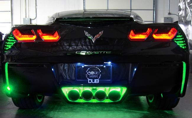 C7 Corvette Rear Fascia Bumper Led Kit Rpidesigns Com