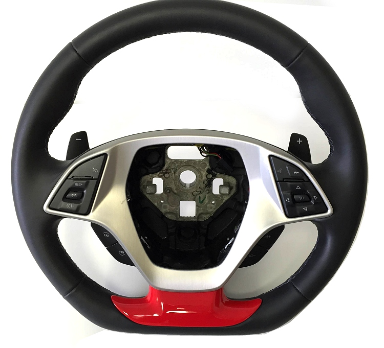 6Th Generation Camaro >> C7 Corvette Z06 Painted Steering Wheel Insert Cover - RPIDesigns.com