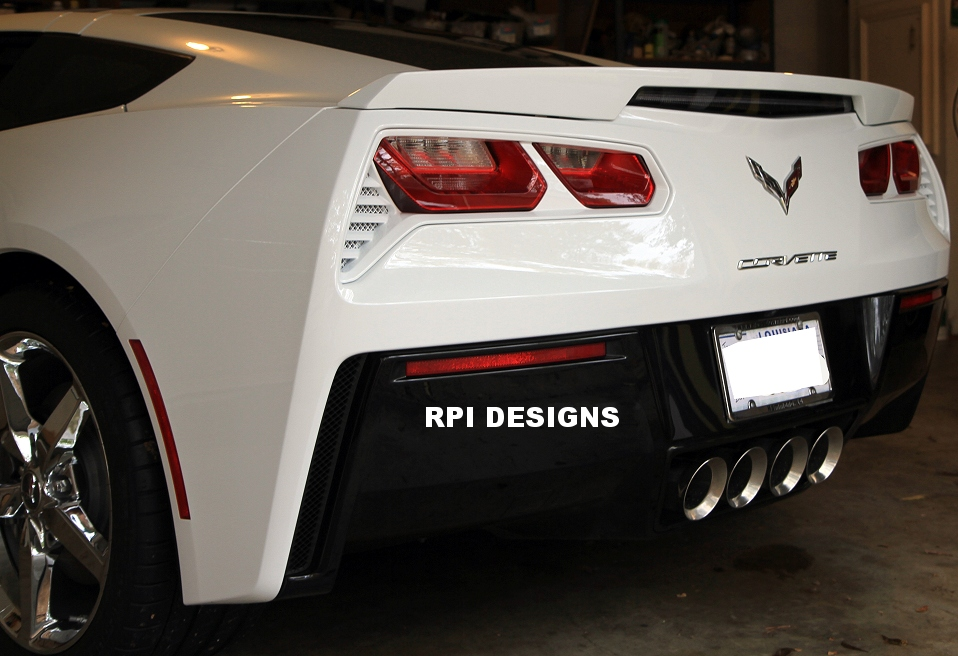 C7 Corvette Painted Taillight Bezels (Tail light) - RPIDesigns.com