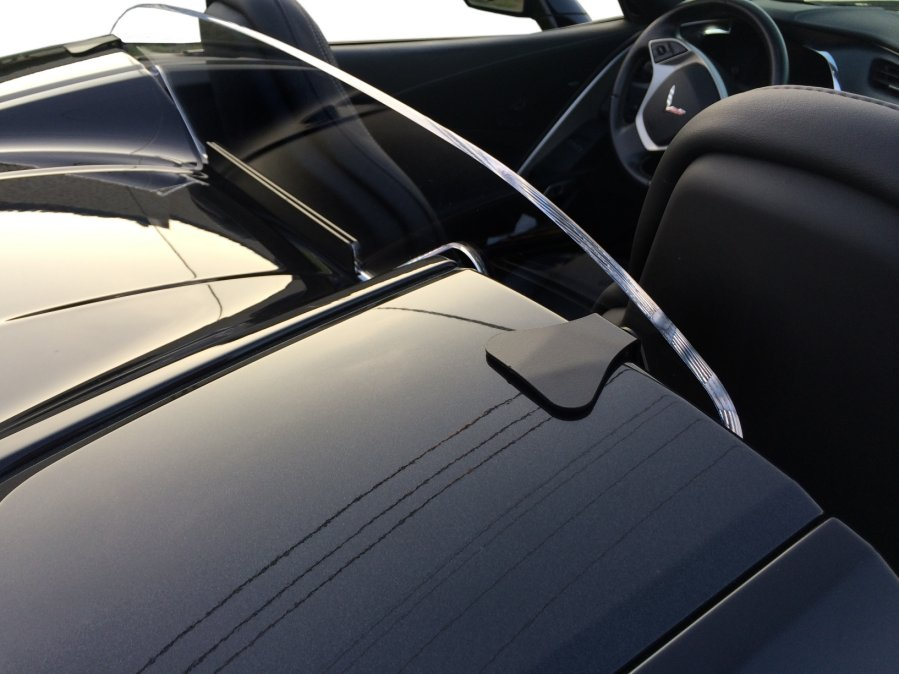 C7 Corvette Windrestrictor Convertible Wind Block